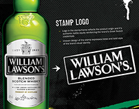William Lawson's. Creative concept for bar