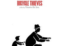 Bicycle Thieves (Ladri di Biciclette) Movie Poster