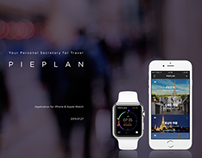 PiePlan for apple Watch