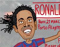 FITBA' CRAZY: Ronaldinho