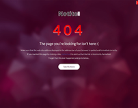 Notite - Perfect 404 Page Bootstrap Template