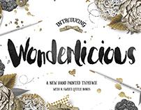 Wonderlicious Typeface with Bonus