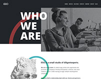 Who we are page for ego-cms company