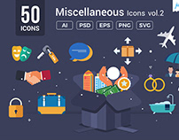 Miscellaneous Vector Icons V2