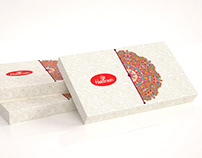 Haldiram Packaging design sweet box | traditional India
