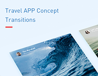 Travel APP Concept Cover