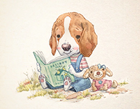 Nina The Beagle