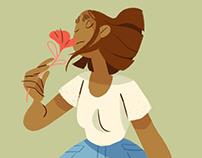 Wildflower Pickin' & Sniffin'