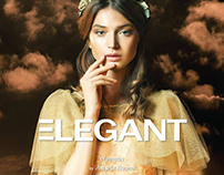 OLYMPUS for ELEGANT magazine | COVER August #4 ISSUE