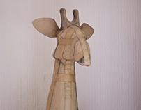 Cardboard Giraffe
