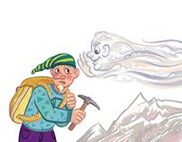 "Illustrations for ""Uhtishka"" magazine (3)"