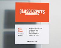 Glass Depots — Branding