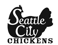 Seattle City Chickens Poster and Brochure