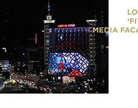 2013 DONGDAEMOON SEOUL LOTTEMALL MEDIA FACADE