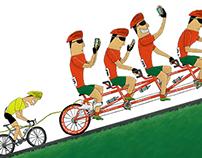 Sportimonium Cartoonale 2015 - Cycling
