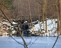 Autumn and Winter Waterfalls