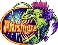 Angry Angler Fish Logo Design