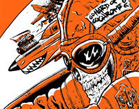 The Screaming Jets 2016 Tour Artwork