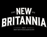 New Britannia Hotel Branding