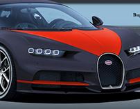 Bugatti Chiron Fbg par HERMES