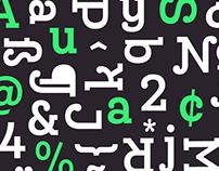 Queulat Condensed Font