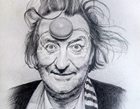 Bolek Polivka - pencil portrait drawing (2016)
