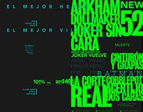 The Joker Infographic Design