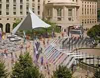 Ronald Reagan Building, Plaza Activation Proposal