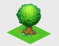 Isometric tree + video process