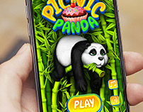 Picnic Panda Game Concept