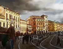 Padua - Aquarell