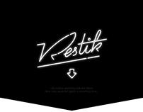 Restik — logo for restaurant automation system
