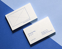 Design by Chuang Mu Ping Business card