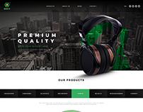 Music online shop site