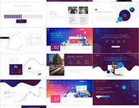 Multicolor Design PowerPoint template