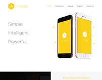 JobAppy- Responsive WordPress Website
