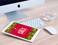 Christmas Sale Email Template Design