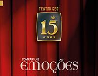 15 anos do Teatro do Sesi-ES