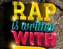 Lettering rap