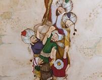 miniature art:Allah'ın ipi ( Âl-i İmrân 103)