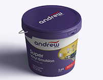 Andrew Paints Re-Branding