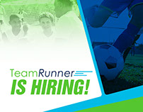 Team Runner Advertising Flyer