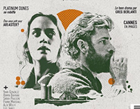 Cinemateaser A Quiet Place Magazine Cover Illustration
