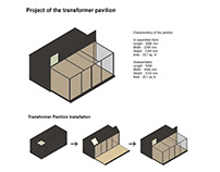 Project of the transformer pavilion