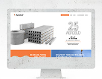 Concrete and cement producer website