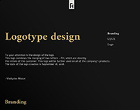 FH- logotype design