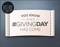 #GivingDay