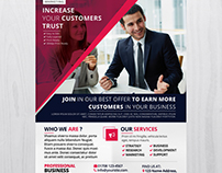 Marketing Business - Download FREE PSD Flyer Template