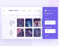 Talent Booking Web App