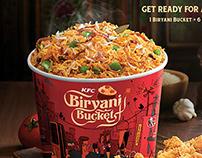 KFC Biryani and Hot & Spicy Chicken
